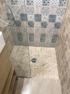 Rénovation douche à l'italienne